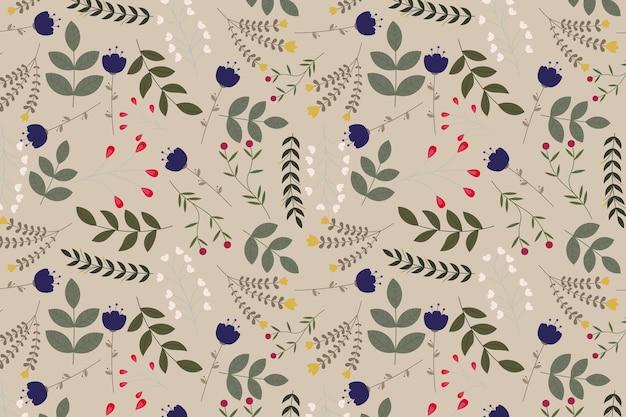 Streszczenie organiczne kwiatowy wzór tła. ilustracja wektorowa.