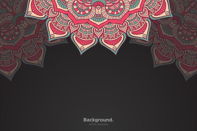 Streszczenie orientalne mandali