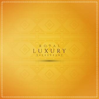 Streszczenie ozdobny luksusowy żółty