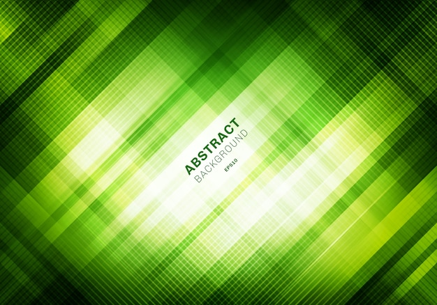 Streszczenie paski zielone tło.