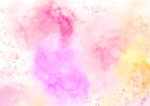 Streszczenie pastelowe tło akwarela tekstury