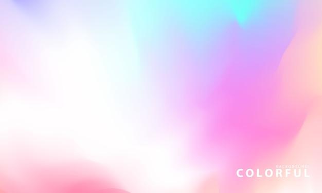 Streszczenie pastelowe tło gradientowe pojęcie ekologii