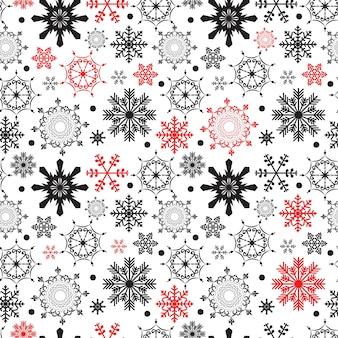 Streszczenie piękno boże narodzenie i nowy rok bezszwowe tło wzór. ilustracja wektorowa. eps10