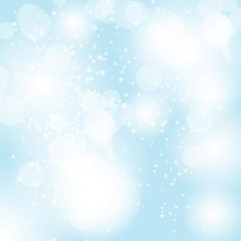 Streszczenie piękno boże narodzenie i nowy rok tło wektor illust