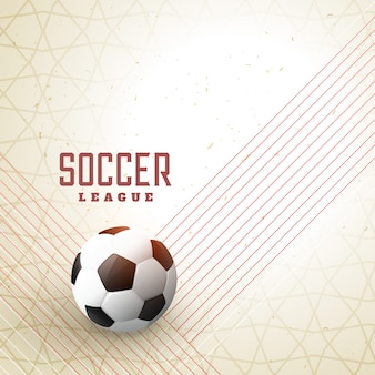 Streszczenie piłki nożnej na tle linii