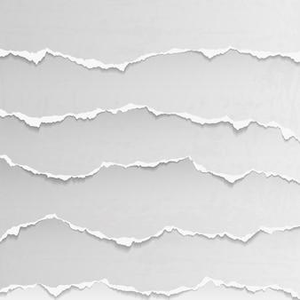 Streszczenie podarte papieru