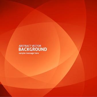 Streszczenie pomarańczowe światło linie nowoczesne tło wektor ilustracja