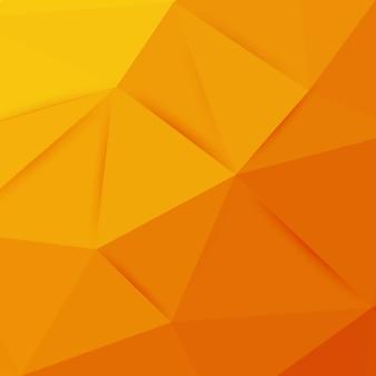 Streszczenie pomarańczowe tło geometryczne