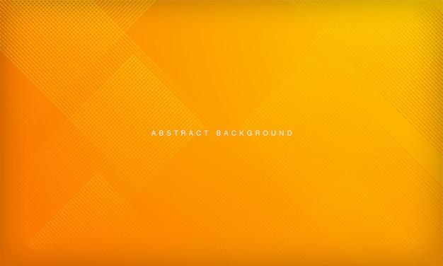Streszczenie pomarańczowy i żółty gradient geometryczne kształty tła nowoczesna linia w paski projekt krzywej