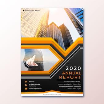 Streszczenie raportu rocznego z szablonu zdjęcia