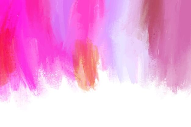 Streszczenie ręcznie malowane tła