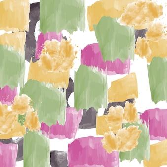 Streszczenie ręcznie malowane tło wzór. ilustracja wektorowa. abstrakcyjne tło.