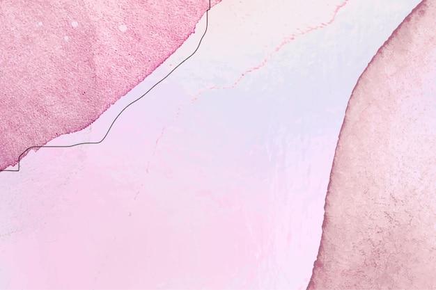 Streszczenie różowe pastelowe teksturowane tło