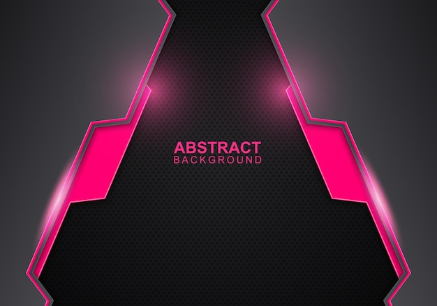 Streszczenie różowy i niebieski gradient koło kształt tła. ilustracja wektorowa. abstrakcyjne tło.