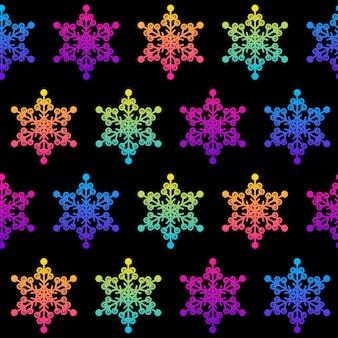 Streszczenie śnieżynka wzór