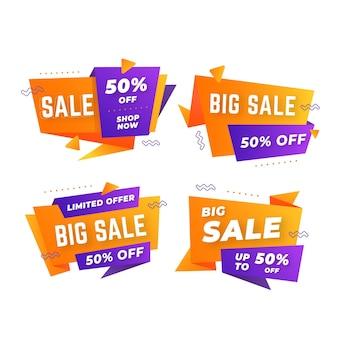 Streszczenie sprzedaż banerów pakiet