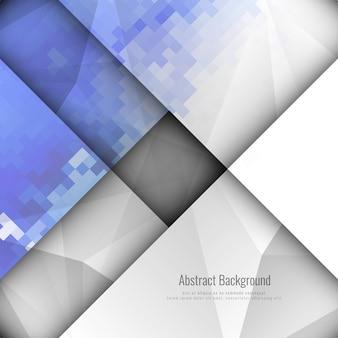 Streszczenie stylowy geometrycznej mozaiki tle