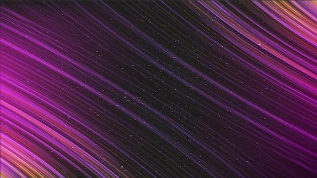 Streszczenie światło gwiazdy na poziomym tle wszechświata z galaktyką i gwiaździstą koncepcją, wektorv