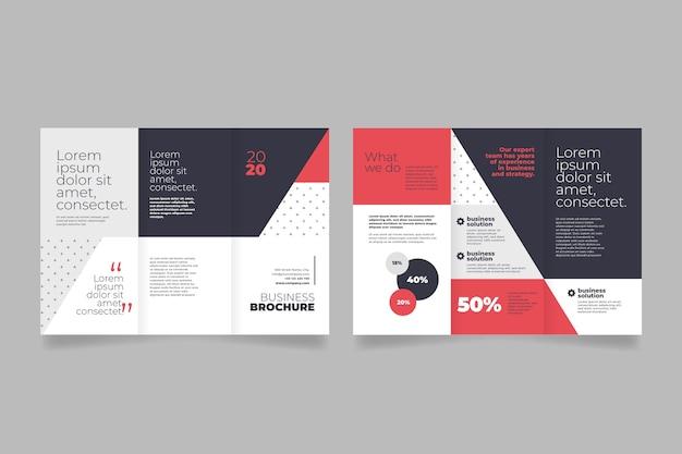 Streszczenie szablon broszura rozdawać
