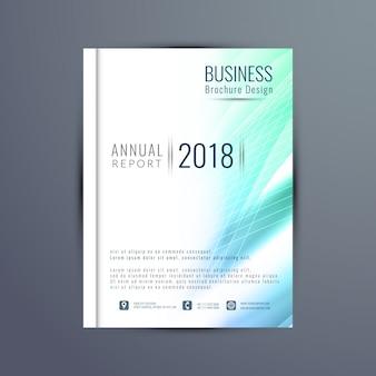 Streszczenie szablon nowoczesny biznes broszura