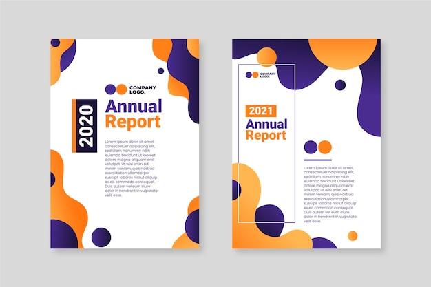 Streszczenie szablonów raportów rocznych 2020-2021