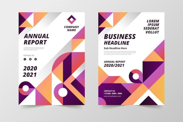 Streszczenie szablonów raportu rocznego 2020/2021
