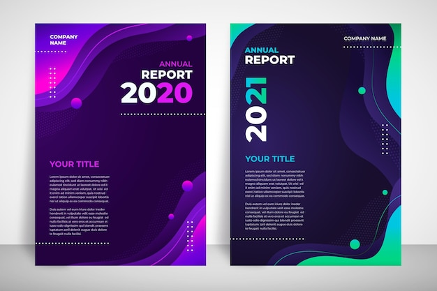 Streszczenie szablonu raportu rocznego