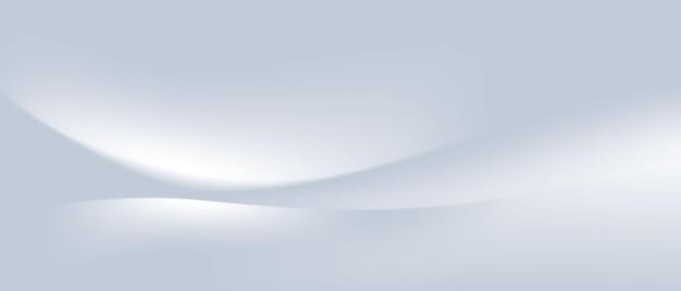 Streszczenie szary fala tło plakat z dynamicznym. technologia sieci ilustracja wektorowa.