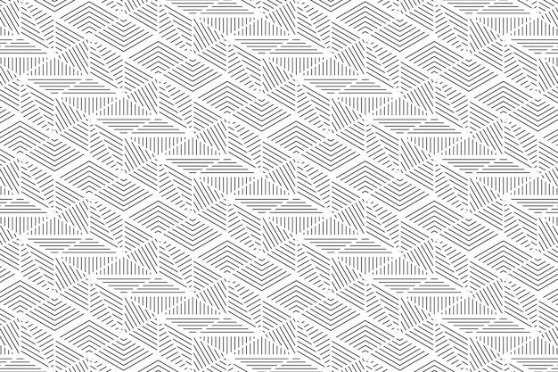 Streszczenie szary wzór linii tła