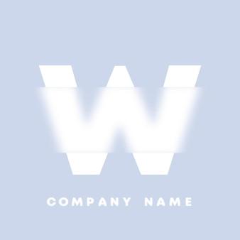 Streszczenie sztuka alfabet litery w logo. glassmorfizm . rozmyte czcionki w stylu, projekt typografii, litery i cyfry alfabetu. defocus design czcionki, skoncentrowany i nieostry alfabet stylu. ilustracja wektorowa