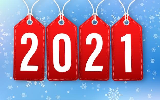 Streszczenie tag 2021 dla ilustracji projektu uroczystości