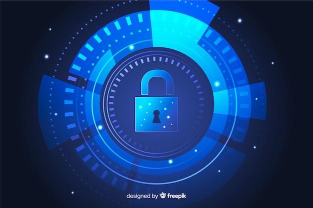 Streszczenie tapeta bezpiecznych technologii