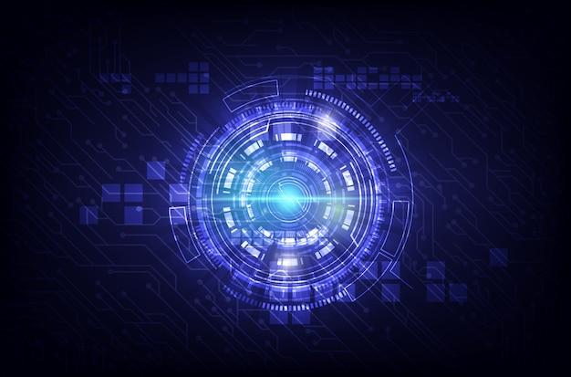 Streszczenie technologia komunikacji tło