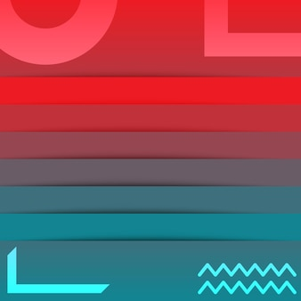 Streszczenie technologia niebieski czerwony gradient tapety tło