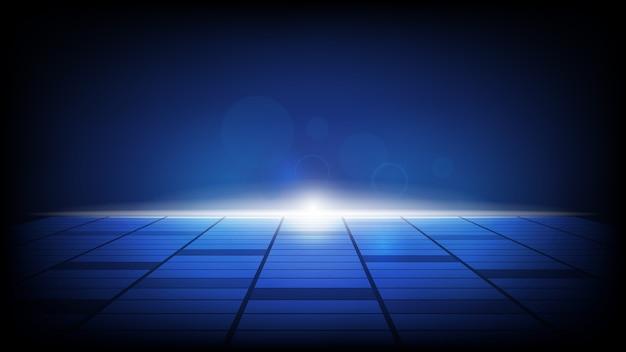 Streszczenie technologia tło