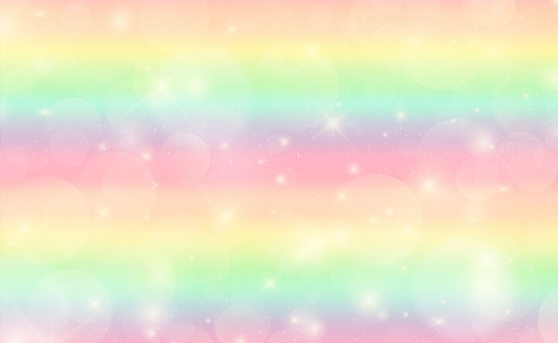 Streszczenie tęcza kolorowe tło