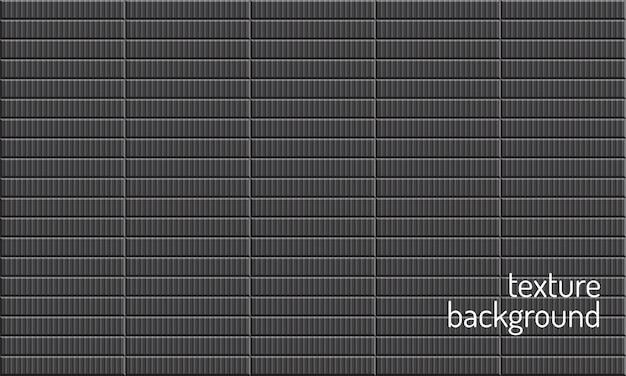 Streszczenie tekstura 3d. ciemny kwadratowy wzór ściany. realistyczna powierzchnia