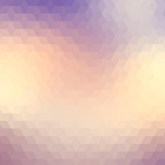 Streszczenie tle geometryczne w odcieniach fioletu