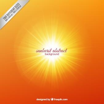 Streszczenie tle sunburst