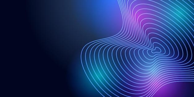 Streszczenie tło 3d z nowoczesnym i kolorowym designem. garnitur dla szablonu prezentacji firmy korporacyjnej. streszczenie tło z technologią projektowania graficznego i koncepcji połączenia sieciowego