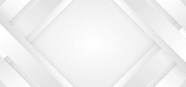 Streszczenie tło białe i szare ukośne pasy linie