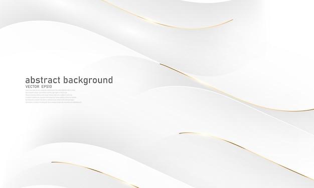 Streszczenie tło białe złoto plakat piękna z vip luksusowych dynamicznych.