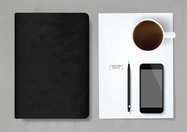 Streszczenie tło biznesowe notebooka