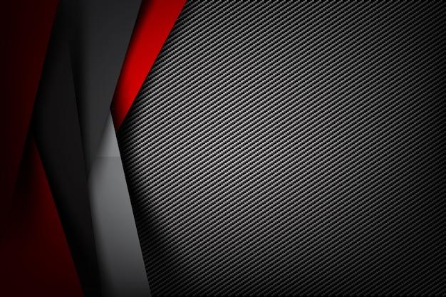 Streszczenie tło ciemne z teksturą włókna węglowego