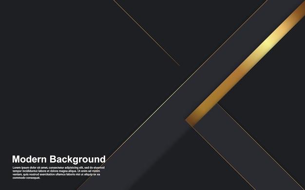 Streszczenie tło czarne i złote