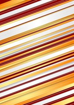 Streszczenie tło czerwone i pomarańczowe paski. projekt wektorowy