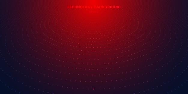 Streszczenie tło czerwone kropki półtonów