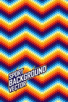 Streszczenie tło dla drużyny ekstremalnych jersey, wyścigi, jazda na rowerze, legginsy, piłka nożna, barwy gier i sportu.