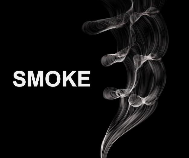 Streszczenie tło dymu.