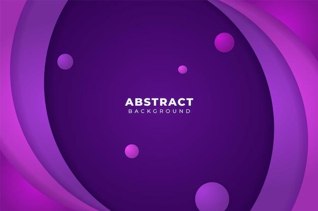 Streszczenie tło dynamiczny nałożony kształt miękki gradient fioletowy